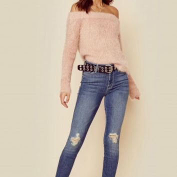 FLORENTINE OFF SHOULDER SWEATER