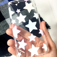 Pastel Stars iPhone Case