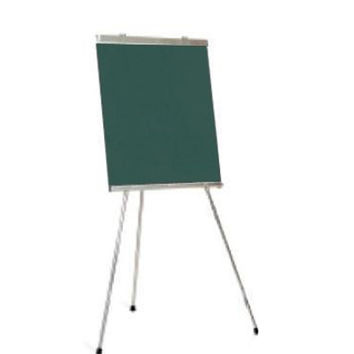 Marsh School Classroom Office Conference Room Presentation Display 70 X 28.5 Green Chalkboard Portable 3-Leg Presentation Easels Aluminum