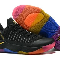 Nike Paul George Pickle 2  Fly Line Rainbow Gold  Basketball Shoes