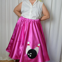 Poodle Skirt Shirt, Plus Size, Curvy Gals, 50's Sock Hop, White Shirt, Sleeveless, Plus Size, Cotton Shirt, Button Down Shirt