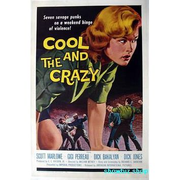 Cool And The Crazy Movie Poster 11 inch x 17 inch poster