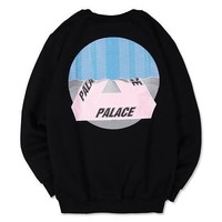 Palace Women Men Fashion Casual Edgy Pattern Top Sweater Pullover-2