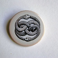 "The Neverending Story - The Auryn 1x1.5"" pinback button badge from Stickerama"