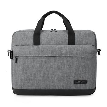 BAGSMART New Men 15.6 Inch Laptop Briefcase Bag Handbag Mens Nylon Briefcase Men's Office Bags Business Computer Bags