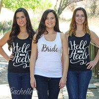 Hell on Heels Tank Tops