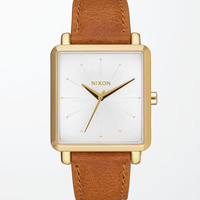 Nixon K Squared Tapered Leather Watch at PacSun.com