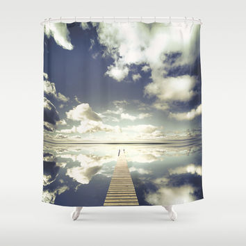 Vanity Shower Curtain by HappyMelvin