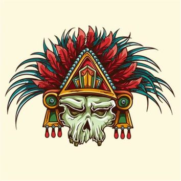 Fashion PVC Patch Clothes Large Skull chief Thermal Transfer Printing T shirt Women iron on patches for clothing boy Stickers
