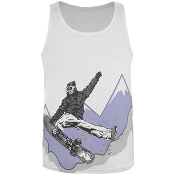 Shred the Gnar All Over Adult Tank Top