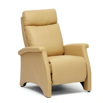 Baxton Studio Sequim Tan Modern Recliner Club Chair Set of 1