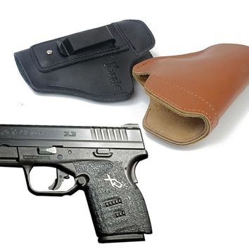 Concealed Leather IWB Holster Carry Gun Holster for Springfield XD Springfield XDS Springfield XDM concealment quick draw
