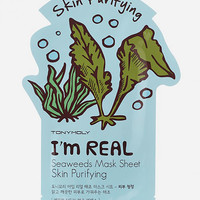 Tonymoly I Am Real Seaweed Skin Purifying Sheet Mask Seaweed One Size For Women 27480595701