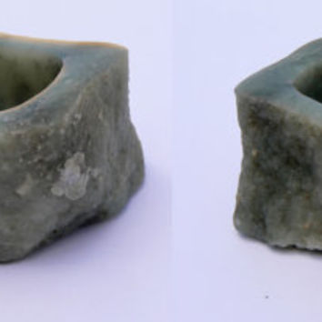 Montana Soapstone Bowl, Hand Worked Natural Stone Bowl, OOAK Dish
