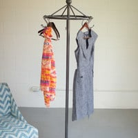 Iron Spinning Clothes Rack