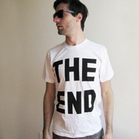 THE END tee - Mens + Unisex