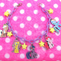 My Little Pony Friendship is Magic Charm Bracelet