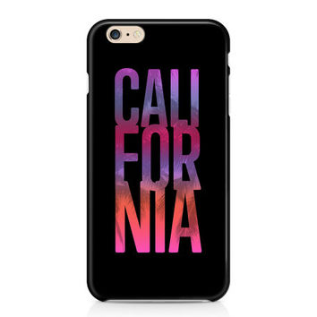 California iPhone 7 Case, Tropical Phone Case, Sunset Phone Case, Palm Trees Phone Case, Custom Phone Cover, Samsung Galaxy S7