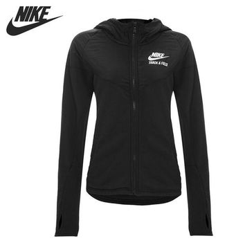 VONESC6 Original NIKE RU MIX FABRIC WINDRUNN women's jacket  Hoodie sportswear