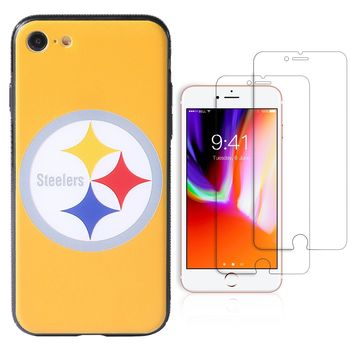 "Pittsburgh Steelers Premium iPhone 7 / iPhone 8 (4.7"") Phone Case Set"