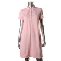 Tommy Hilfiger Womens Cotton Signature Casual Dress