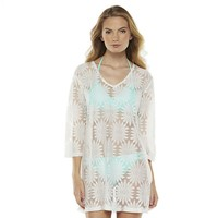 Portocruz Sunflower Crochet Cover-Up