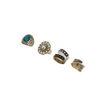 Festive Ring Pack | Missselfridge