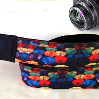 Umbrellas Camera Strap. Nikon, Canon Camera Strap. Colorful Camera Strap. Camera Accessories