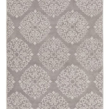 Chapman Medallion Gray Area Rug