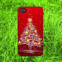 The Christmas Tree iPhone 4, iPhone 5, Samsung S3, Samsung S4 case ,New Case for iPhone