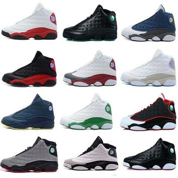[With Original Box]2017 Air Retro 13 XIII men women Basketball Shoes red Bred He Got Game Black Sneaker Sport Shoes Online Sale