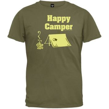 PEAPGQ9 Happy Camper T-Shirt