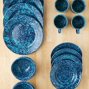 16-Piece Speckled Enamelware Starter Kit | Urban Outfitters