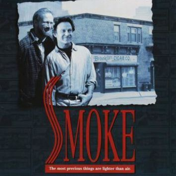Smoke Movie poster Metal Sign Wall Art 8in x 12in
