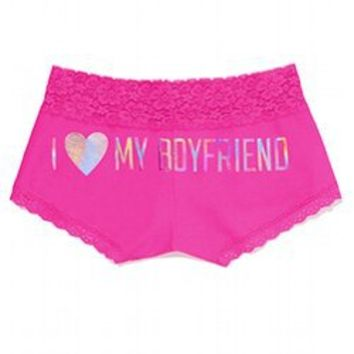 580a3c8e6673a Shop Victoria's Secret Boyshorts on Wanelo