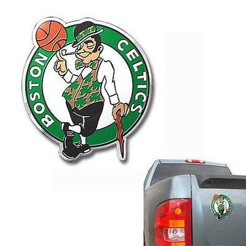 Licensed Official New NBA Pick Your Team Color Aluminum 3D Car Truck Auto Emblem Sticker Decal