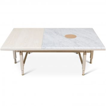 ST. CHARLES COCKTAIL TABLE - WHITE