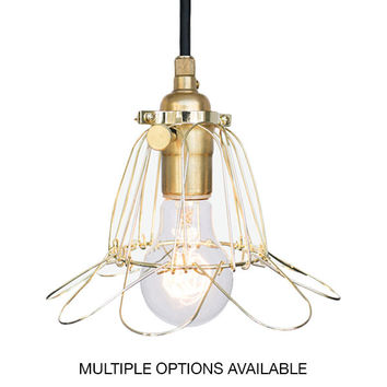 Industrial Trouble Cage Pendant Light