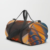 Hypnotzd abstract Art 109 Duffle Bag by paulosilveira