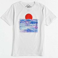 Altru Embroidered Rising Sun Tee - Urban Outfitters