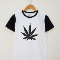 Weed Shirt Cool Teen Shirt Fashion Street Style Tumblr Tee Shirt Unisex Shirt Women Shirt Men Shirt Jersey Shirt Baseball Shirt Short Sleeve