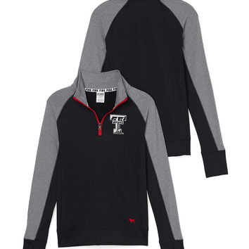 Texas Tech University Ultimate Half-Zip - PINK - Victoria's Secret
