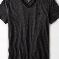 AEO Men's Ringer V-neck T-shirt