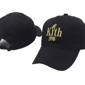 Kith 1996 Embroidered Baseball cotton cap Hat