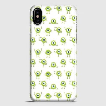 Mike Wallpaper Monsters Inc iPhone X Case | casescraft