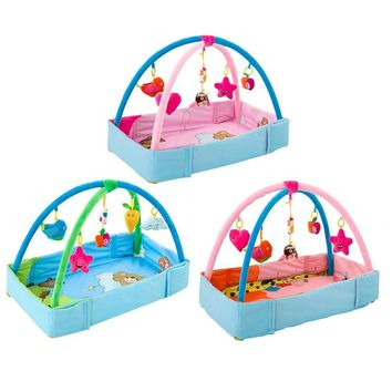 Baby Play Gym Toys Game Lighting Rattles Musical Toys Crawling Blanket  Baby Kids Game Gym Activity Play Mat