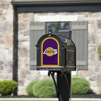Los Angeles Lakers 8x5 Fan Logo Mailbox Decal