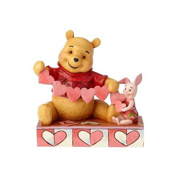 Disney Traditions Pooh and Piglet Heart by Jim Shore