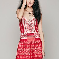Free People Womens Moonlight Dancer Dress - Tea