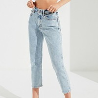 Levi's 501 Cropped Skinny Jean – Stone Throw | Urban Outfitters